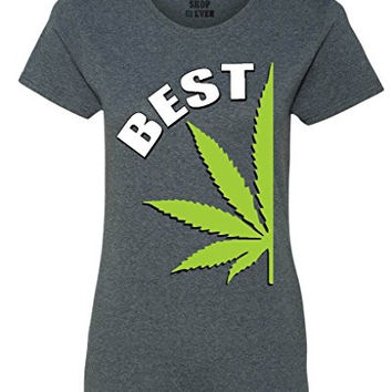 Best Buds Weed Couple Women's T-Shirt Weed Smokers Shirts