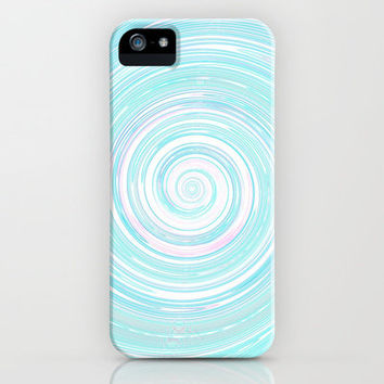 Re-Created Spin Painting No. 5 iPhone & iPod Case by Robert Lee