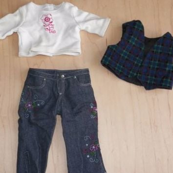 American Girl Clothes Original and Handmade with Shoes Lot of 17 Pieces