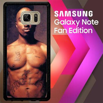 2 Pac V0613 Samsung Galaxy Note FE Fan Edition Case