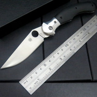 High quality C173 Folding Blade Knife G10 Titanizing Steel Handle Camping Hunting Survival Pocket Tactical Knives Tools