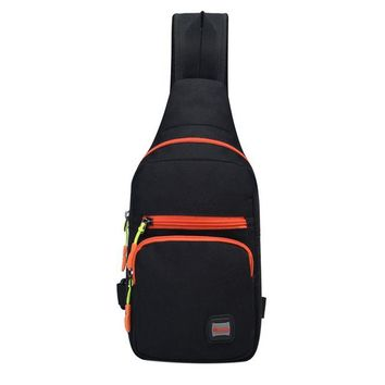 Sports gym bag Chest Sling Pack Outdoor Sport One Single Shoulder Nylon Cloth Big Large Ride Travel Backpack Bag Sports Crossbody Bag KO_5_1