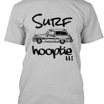 Men's Surf Hooptie HI Vintage Woodie Shirt Hawaii