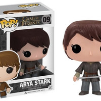 Original Game Of Thrones Pop Figure - Arya Stark Vinyl Action Figure Comes With Box