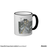 Song Bird mug (more styles) from Zazzle.com