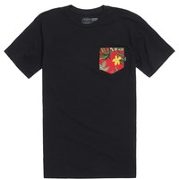 Vans Authentic Pocket T-Shirt - Mens Tee - Black