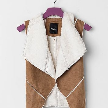 Girls - Me Jane Faux Suede Vest