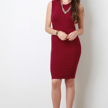Chain Necklace Dropped Arm Hole Dress