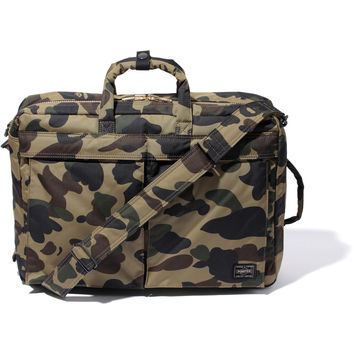 PRINT 1ST CAMO 3WAY BRIEFCASE