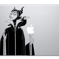 goodgoodstore (TM) Maleficent Witch Macbook Vinyl Sticker Laptop Skin