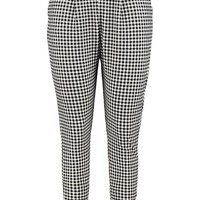 Plus Anya Gingham Print Trouser | Boohoo