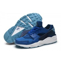 Men s Nike Air Huarache Shoes Military Blue Obsidian 318429 441