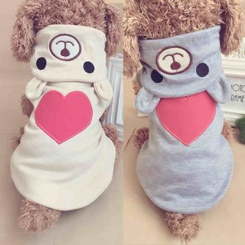Cute Pet Dog Clothes for Small Dogs Coat Funny Pet Halloween Costumes Soft Dog Pajamas Yorkies Chihuahua Clothes 10dY25