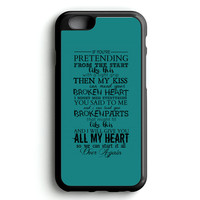 One Direction Truly Madly Deeply Fan Made iPhone 4s iphone 5s iphone 5c iphone 6 Plus Case | iPod Touch 4 iPod Touch 5 Case