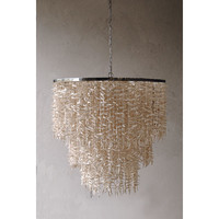 Creative Co-Op Simply Natural Mini Chandelier & Reviews | Wayfair