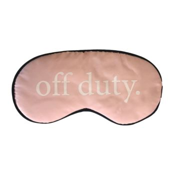 SILK OFF DUTY MOM'S SLEEP MASK