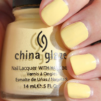 China Glaze up & Away Collection: Lemon Fizz