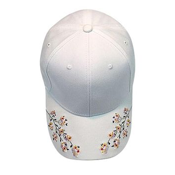 Hats 2017 New Summer Women Men Embroidery Cotton Baseball Cap Snapback Caps Hip Hop Hats High Quality Fashion Accessories Mar 29