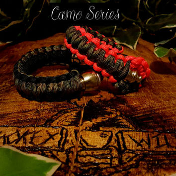 Paracord Pipe Bracelet - Camo Series