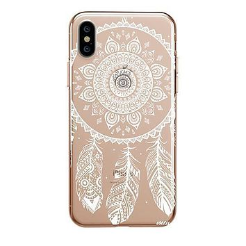 Henna Ojibwe - iPhone Clear Case