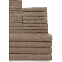 Baltic Linen 24-Piece Cotton Bath Towel Set - Walmart.com