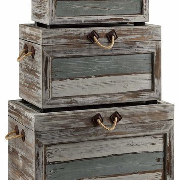 Nantucket Weathered Wood Trunks