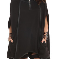 Disney Maleficent Bat Wing Pullover