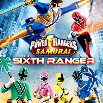 Power Rangers Samurai: The Sixth Ranger Vol. 4 [DVD]