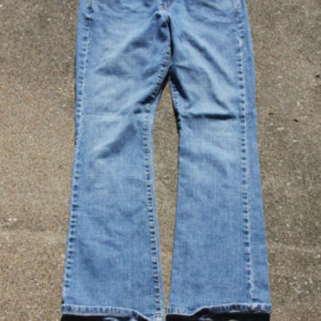 Women's Jeans Denim Levi Strauss Bootcut 8 Short #7864