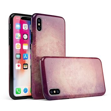 Abstract Fire & Ice V20 - iPhone X Swappable Hybrid Case
