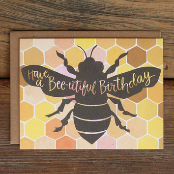 Bee-utiful Birthday