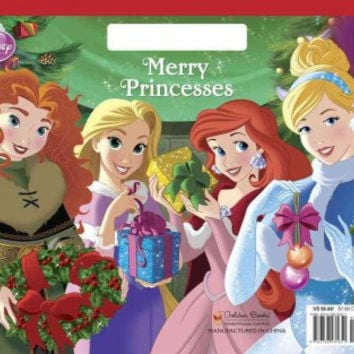 Merry Princesses Big Coloring Book