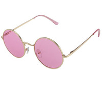 The Presley Sunglasses in Pink