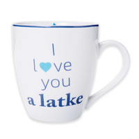 "Pfaltzgraff® ""I Love You a Latke"" Mug"