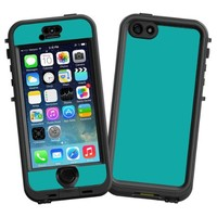"""Turquoise """"Protective Decal Skin"""" for LifeProof nuud iPhone 5s Case"""
