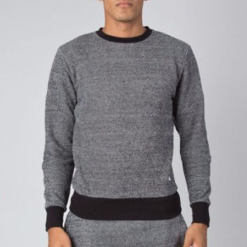 King Apparel - Boundry Track Top - Grey Tweed - Limited Edition