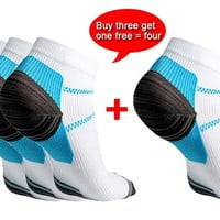 Veins Socks Compression Socks With The Spurs For Plantar Fasciitis Arch Pain [9303534858]