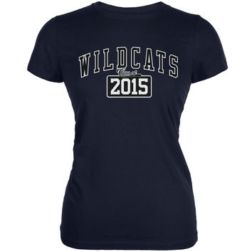 Graduation - WildCats Class of 2015 Navy Juniors Soft T-Shirt