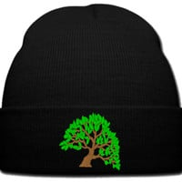 TREE LOGO beanie knit hat