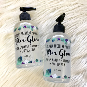 """""""After Glow"""" Micellar Water Cleanser"""