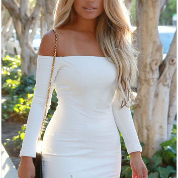 Dress Long Sleeve Short Bodycon Tight Black Long Sleeve Dress Casual Party Short Sexy Tight Mini Dress SM6