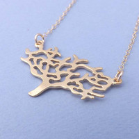 Gold Tree on  GOLD FILLED CHAIN -Bridesmaid,bestfriend,Wife,Girlfriend, Mothers Gift--simple everyday jewelry