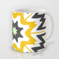 Mustard Points Mug by Abstracts by Josrick