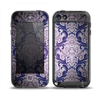 The Royal Purple Laced Wallpaper Skin for the iPod Touch 5th Generation frē LifeProof Case