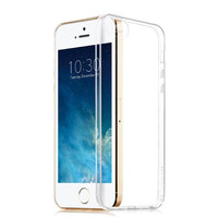 Ultra Thin Transparent Tpu Soft Silicon Capa Case For Apple Iphone 5 5s Phone