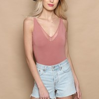 Gentle Fawn Catalina Lace Cami Bodysuit