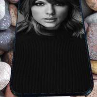 black and white taylor swift for iPhone 4/4s/5/5S/5C/6, Samsung S3/S4/S5 Unique Case *95*