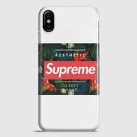 Supreme Aesthetic iPhone X Case