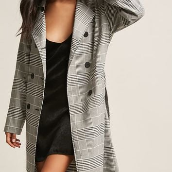 Glen Plaid Trench
