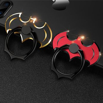 Oatabasf original Universal Phone Ring Holder Stand 360 Degree Batman POP metal Phone Finger Ring Phone Holder For iPhone Xiaomi